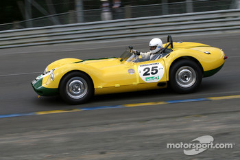 #25 Lister Jaguar Knobbly 1958: Chris Lunn, Christop Keith-Lucas