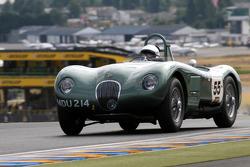 #55 Jaguar C Type 1952: Nigel Webb, Gary Pearson