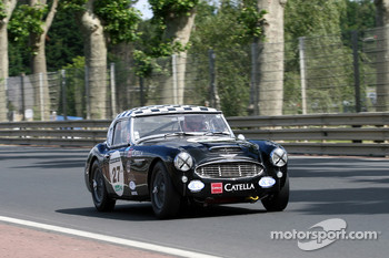 #27 Austin Healey 3000 1961: Fabrice Deschanel, Philippe Liechti