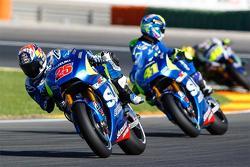 Maverick Viñales and Aleix Espargaro, Team Suzuki MotoGP