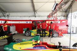 ABT Schaeffler Audi Sport team area
