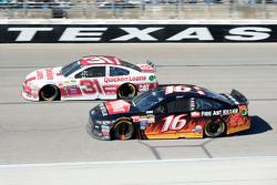 Ryan Newman, Richard Childress Racing Chevrolet and Greg Biffle, Roush Fenway Racing Ford