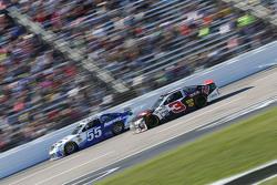 David Ragan, Michael Waltrip Racing Toyota and Austin Dillon, Richard Childress Racing Chevrolet