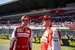 Kimi Raikkonen, Ferrari and and Esteban Gutierrez, Ferrari Test and Reserve Driver