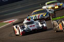 奥迪乔斯特车队7号奥迪R18 e-tron quattro赛车:安德烈·洛特勒、博努瓦·特鲁耶、马塞尔·法斯勒