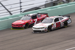 Joey Gase, Jimmy Means Racing Chevrolet and Regan Smith, JR Motorsports Chevrolet