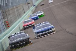 Ben Rhodes, JR Motorsports Chevrolet and Kyle Larson, Hscott Motorsports Chevrolet