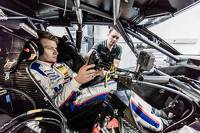 DTM Photos - Sebastian Asch, Mercedes-AMG C 63 DTM seat fitting