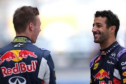 Daniel Ricciardo, Red Bull Racing en Daniil Kvyat, Red Bull Racing