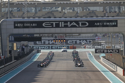 Race 2 Starting grid