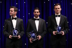 Romain Dumas, Neel Jani, Marc Lieb, Porsche Team