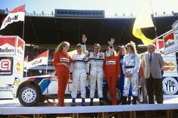 Third place Carlos Reutemann and Jean-François Fauchille, Peugeot 205 T16