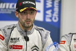 Press conference: polesitter Jose Maria Lopez, Citroën C-Elysee WTCC, Citroën World Touring Car team