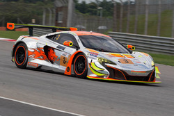 #3 Clearwater Racing McLaren 650S GT3: Weng Sun Mok, Rob Bell, Keita Sawa