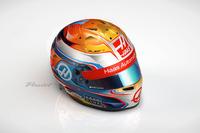 Formula 1 Photos - Helmet of Romain Grosjean, Haas F1 Team