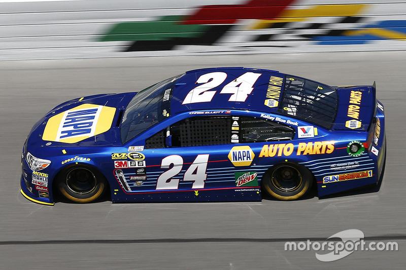 Pole-Position: Chase Elliott (Hendrick-Chevrolet)