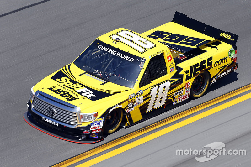 Kyle Busch Motorsports >> Cody Coughlin, Kyle Busch Motorsports Toyota bei Daytona - NASCAR Truck Fotos