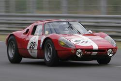 28-Burnett, Lister, Bronson-Porsche 904, 6 1964