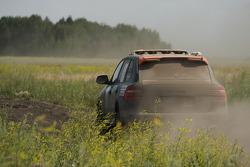 #29 Team Hock Racing 2 Porsche Cayenne S Transsyberia: Lars Kern and Daniel van Kan