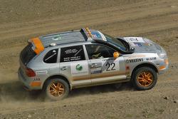 #22 Team Oz - Unfinished Business Porsche Cayenne S Transsyberia: Paul Watson and David Morley