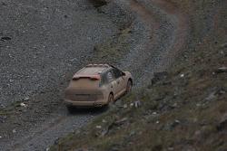 #25 Inteko Porsche Cayenne S Transsyberia: Fedor Fedorov and Mikhail Bardashov
