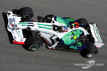 Alexander Wurz, Test Driver, Honda Racing F1 Team, slciks