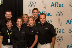 Aflac press conference: Carl Edwards and the Aflac Team with Aflac Racing gear up for 2009 NASCAR Season with the new paint scheme