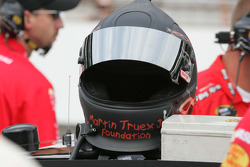 Helmet of Martin Truex Jr.