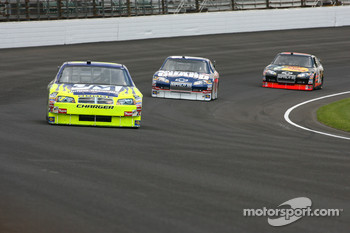 Robby Gordon, Dale Earnhardt Jr. and Martin Truex Jr.