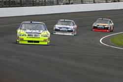 Robby Gordon, Dale Earnhardt Jr. and Martin Truex Jr.