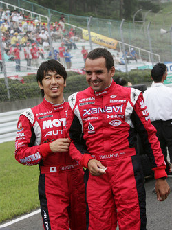 Benoit Treluyer and Masataka Yanagida