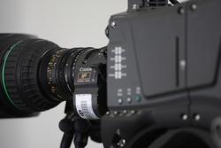 TV Camera in the press conference