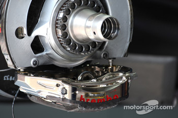 Brembo brake disc and calipers