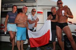 Robert Kubica,  fans