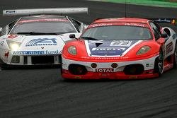 #62 Scuderia Ecosse Ferrari F430: Fabio Babini, Jamie Davies, Ferdinando Monfardini