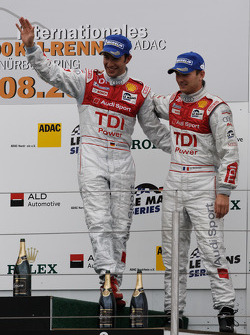 LMP1 podium: third place Alexandre Prémat and Mike Rockenfeller