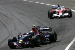 Sebastian Vettel, Scuderia Toro Rosso, Jarno Trulli, Toyota F1 Team