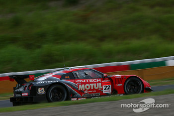 #22 Motul Autech GT-R: Michael Krumm, Masataka Yanagida, Dominik Schwager