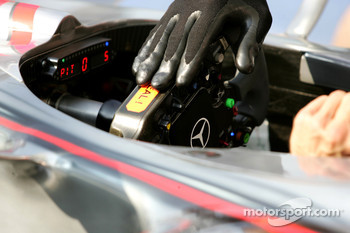 McLaren Mercedes, steering wheel