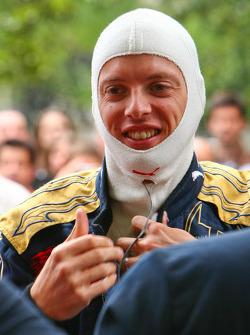 Sébastien Bourdais gets ready for the run