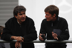 Left, Pasquale Lattuneddu, FOM, Formula One Management