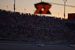 Night falls on California Speedway