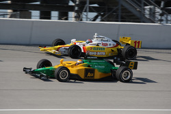 Will Power and Tony Kanaan