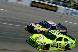 Paul Menard and Michael Waltrip