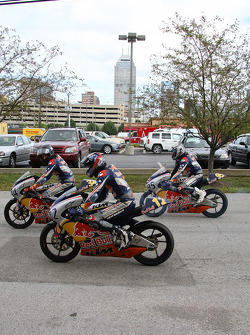 Red Bull Indianapolis GP Kick Start Celebration