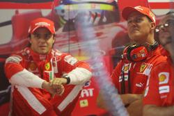 Felipe Massa, Scuderia Ferrari with Michael Schumacher, Test Driver, Scuderia Ferrari