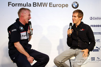 BBQ at FBMW Hospitality: Sebastian Vettel, Scuderia Toro Rosso
