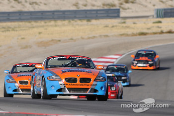 #80 Kinetic Motorsports BMW M3 Coupe: Nic Jonsson, Russell Smith