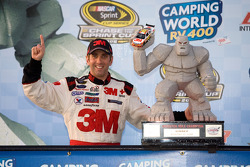 Victory lane: race winner Greg Biffle