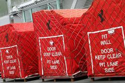 Scuderia Ferrari travel cases